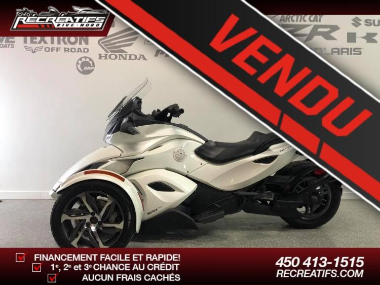 Can-am Spyder ST-S 2014