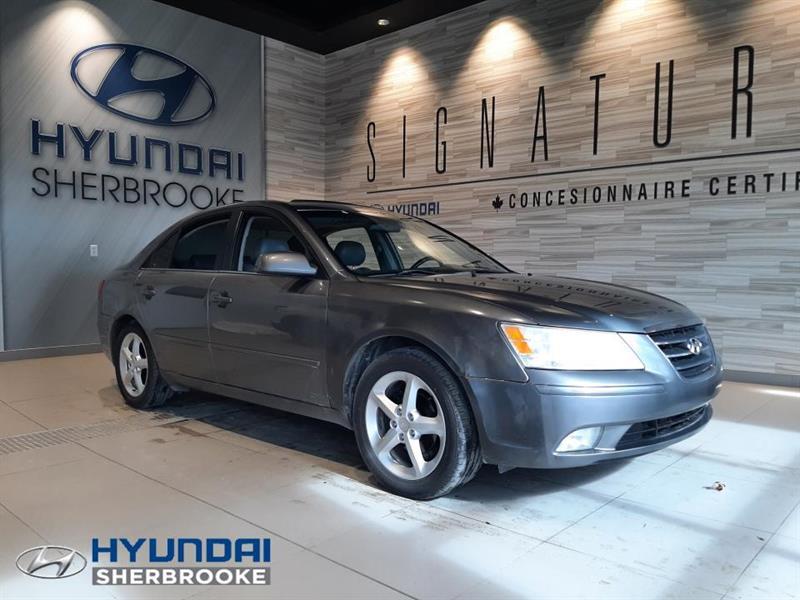 Hyundai Sonata GLS TOIT AIR BANCS CHAUF CRUIS 2009