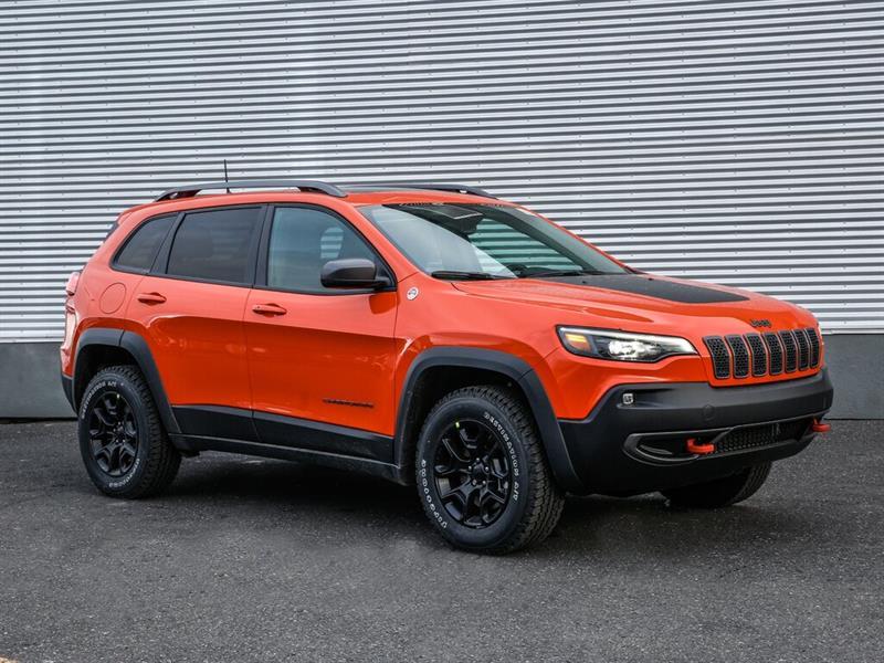 Jeep Cherokee 2021 Trailhawk - Attache remorque