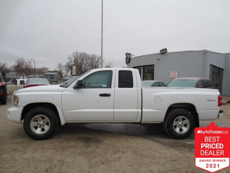 2008 Dodge Dakota 4WD Ext Cab SXT - Low Kms #4746