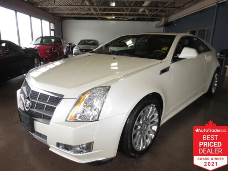 2011 Cadillac CTS 2dr Cpe Performance AWD -  Sunroof/Camera/Leather #4837