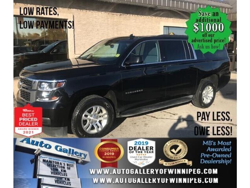 2019 Chevrolet Suburban 1500 LS* AWD/8 PASSENGER/REMOTE START #24613
