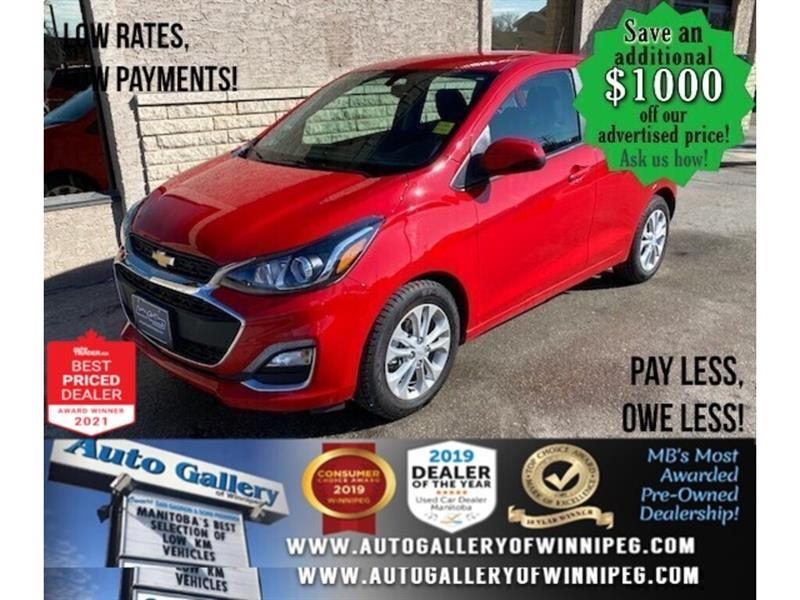 2019 Chevrolet Spark 1LT* LOW KMS/Hatchback/APPLE CARPLAY #24706