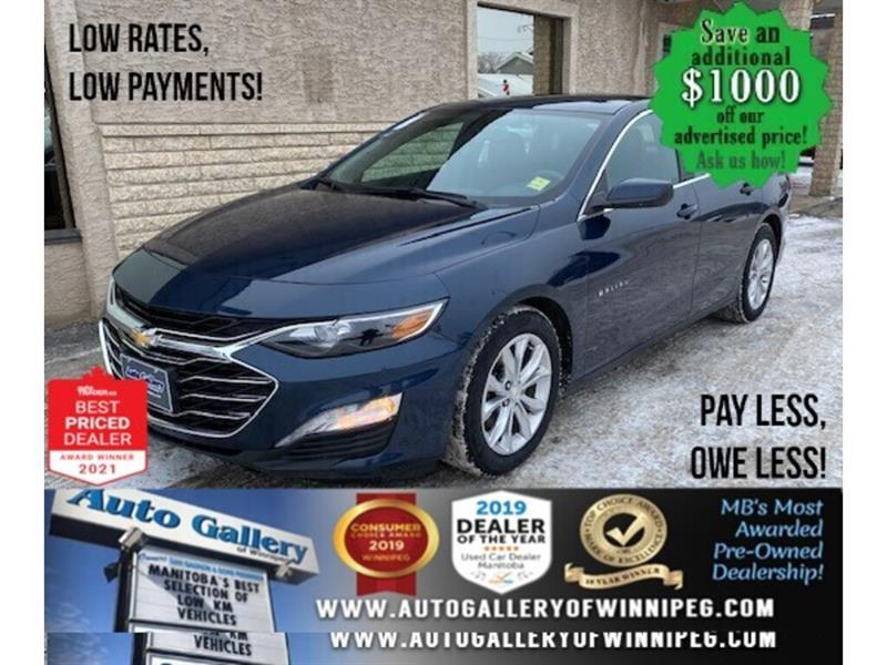 2019 Chevrolet Malibu 1LT* Heated Seats/Back Up Camera/REMOTE STARTER #24761