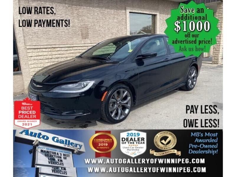 2016 Chrysler 200 S* Keyless entry/Heated Seats/REMOTE STARTER #24691a
