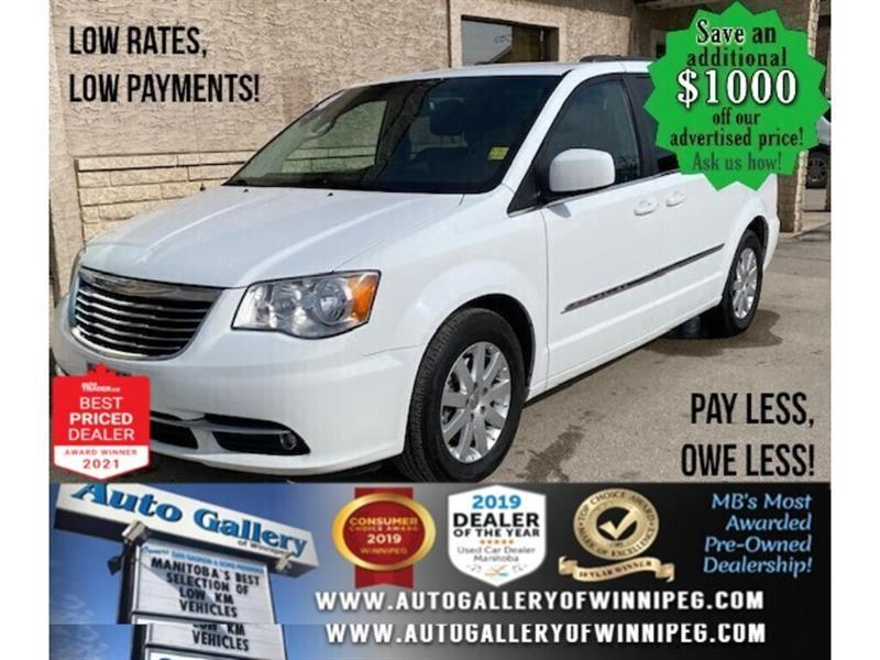 2015 Chrysler Town & Country Touring* 7 Seater/DVD monitor/BACK UP CAMERA #24797