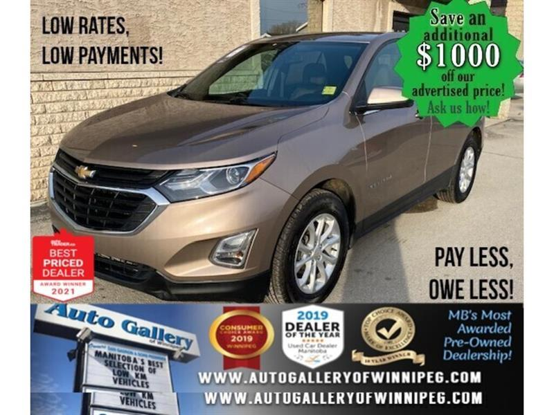 2018 Chevrolet Equinox LT* Reverse Camera/Heated Seats/REMOTE STARTER #24808