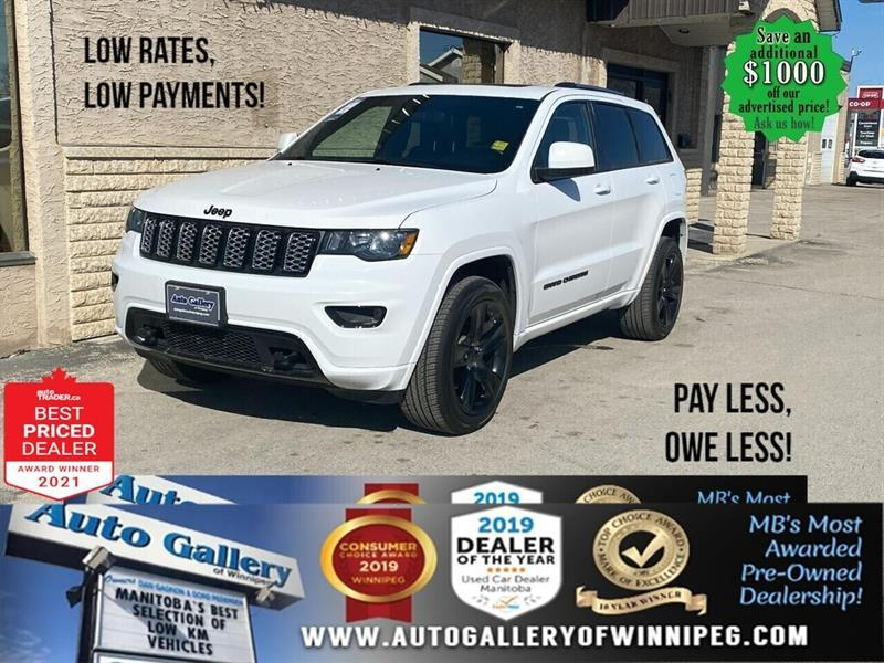 2019 Jeep Grand Cherokee Altitude* LOW KMs/4x4/NAVIGATION/ROOF/REMOTE START #24830