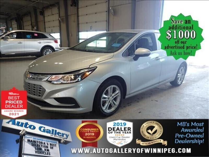 2018 Chevrolet Cruze LT* Bluetooth/Reverse Camera/LOW KILOMETRES #24834