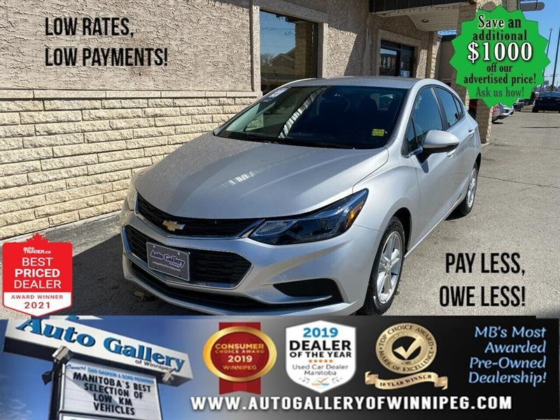 2018 Chevrolet Cruze LT* Heated Seats/Bluetooth/REMOTE STARTER #24837