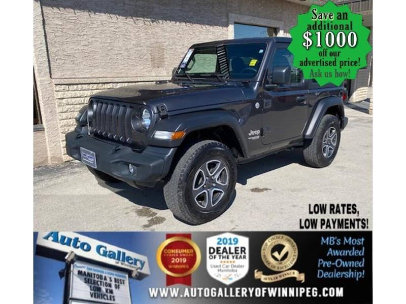 2020 Jeep Wrangler Sport S* 4x4/2 Door/Satellite Radio/REMOTE STARTER #24870