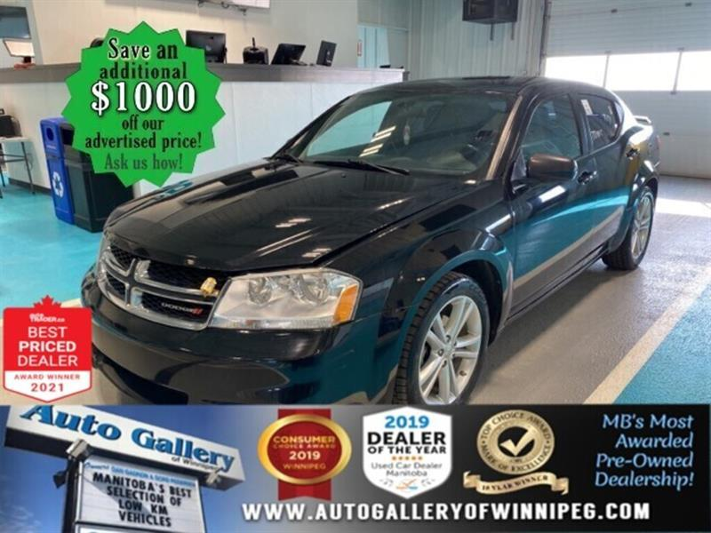 2014 Dodge Avenger SXT* Satellite Radio/Alloys/HEATED SEATS #24871