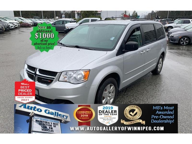 2012 Dodge Grand Caravan SXT* 7 Seater/Satellite Radio/BLUETOOTH #24897