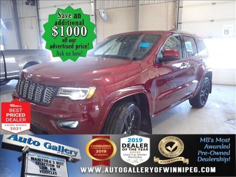 2020 Jeep Grand Cherokee Altitude* 4x4/Satellite Radio/Bluetooth/Navigation #24904
