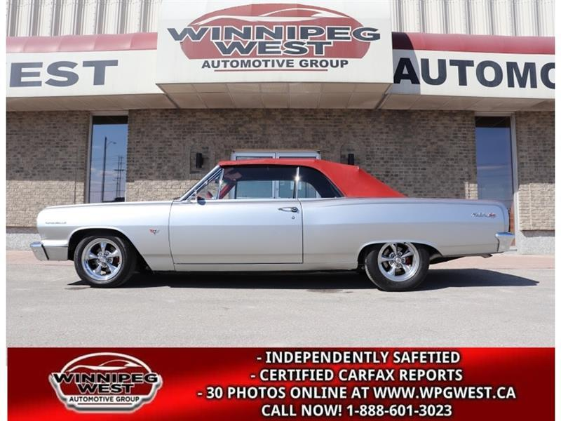 1964 Chevrolet Chevelle MALIBU CONVERTIBLE, RESTO MOD, STUNNING!! #CW5905