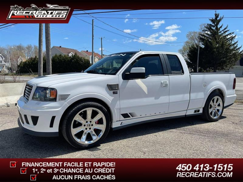 2007 Ford F150 SALEEN S331 FX2 #A12252