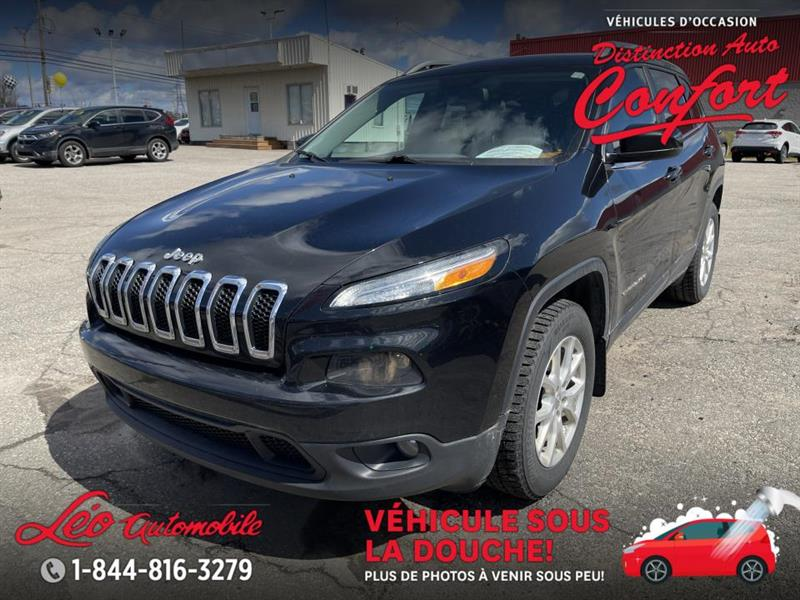 2015 Jeep  Cherokee 4 RM, 4 portes, North