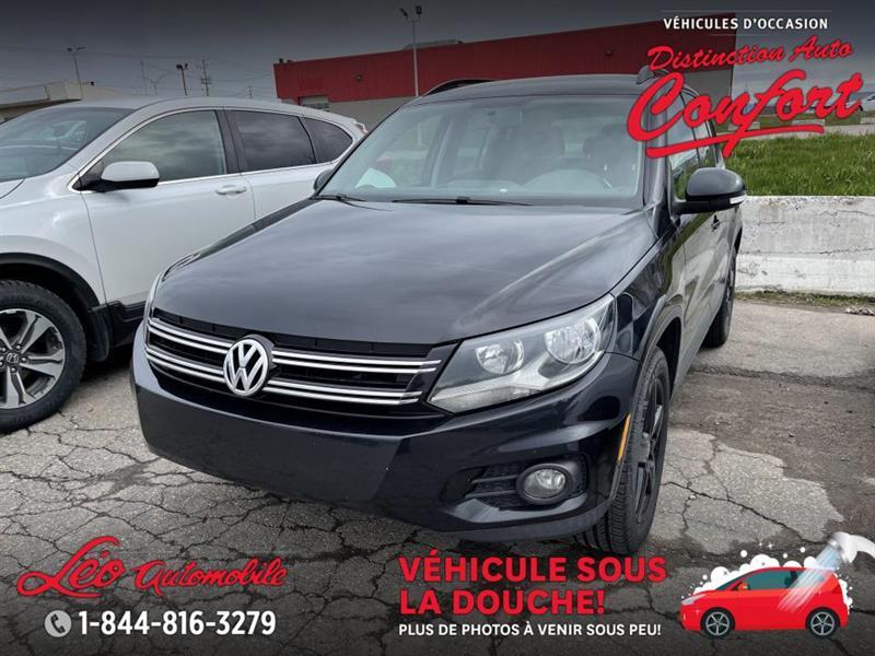 2015 Volkswagen  Tiguan 4MOTION, BLUETOOTH, SIÈGES CHA
