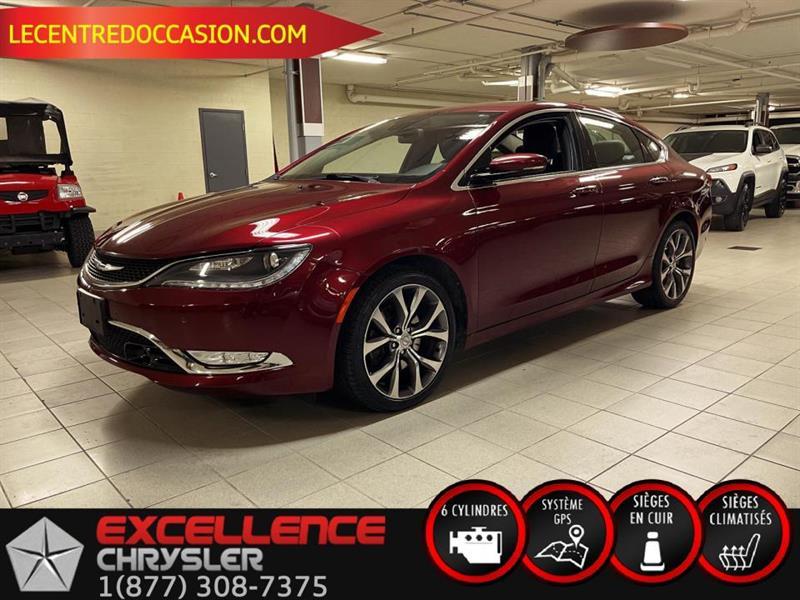 Chrysler 200 C *CUIR/NAV/TECH/CAMERA* 2015