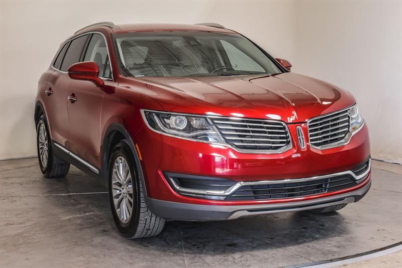 Lincoln MKX 2016 Select AWD Cuir GPS Sièges Cha