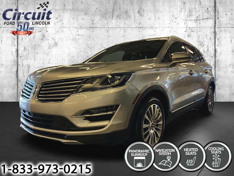 Lincoln MKC 2018 Reserve AWD ** Cuir ** Gps **