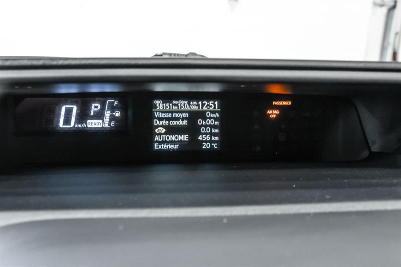 toyota Prius c 2016 - 23