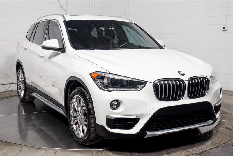 BMW X1 2018 28i xDrive Cuir Brun Toit Pano