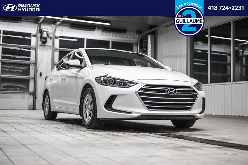 Hyundai Elantra L Chez Rimouski Hyundai 2018
