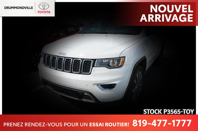 2018 Jeep  Grand Cherokee Limited   4x4   V6   CUIR