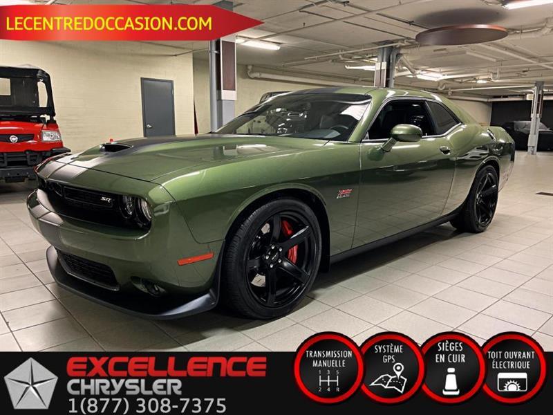 Dodge Challenger SRT 392 *MANUEL/CUIR/TOIT/NAV/ 2018