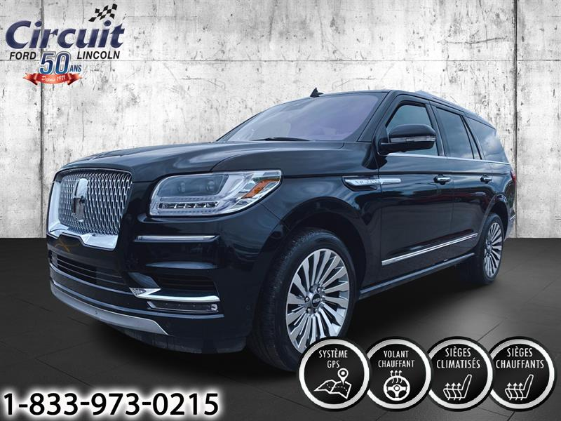 Lincoln Navigator Reserve 4x4 Cuir + Toit panora 2019