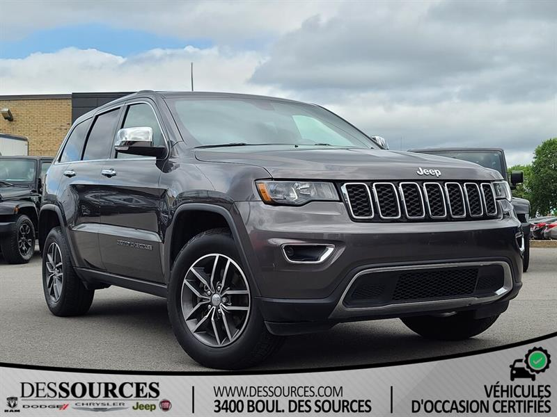 Jeep Grand Cherokee 2018 Limited PAS D'ACCIDENTS   BALA