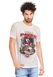 Remera Natural Posto 5 Poker