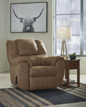 Ashley Rocker Recliner/McGann/Saddle