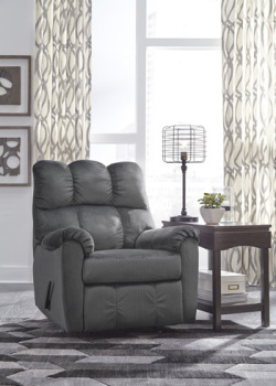 Ashley Rocker Recliner/Foxfield