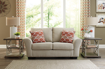 Ashley Loveseat/Lisle Nuvella®/Tawny