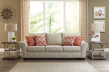 Ashley Sofa/Lisle Nuvella®/Tawny