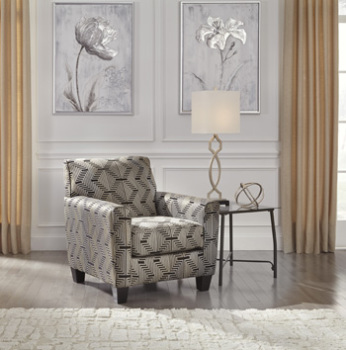 Accent Chair/Torcello/Gunmetal