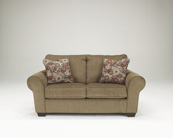 Ashley Loveseat/Galand/Umber