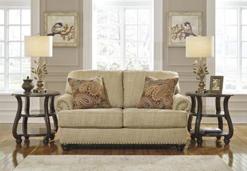 Ashley Loveseat/Candoro/Oatmeal