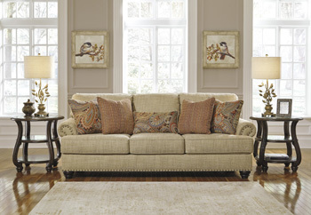 Ashley Sofa/Candoro/Oatmeal