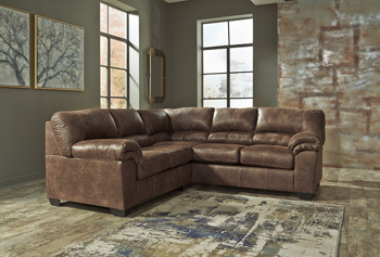 Ashley RAF Sofa/Bladen/Coffee