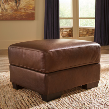 Ashley Ottoman/Fontenot/Chocolate