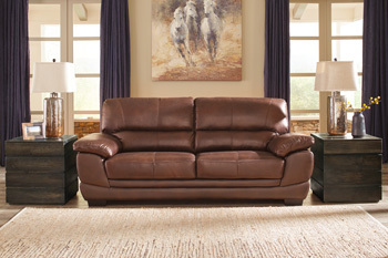 Ashley Sofa/Fontenot/Chocolate