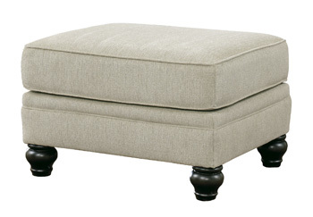 Ashley Ottoman/Milari/Linen