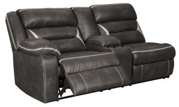 Ashley LAF REC Power Sofa w/Console