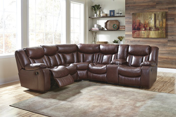 Ashley RAF Reclining Loveseat/Amaroo