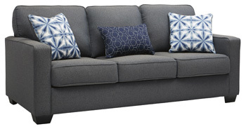Ashley Sofa/Kiessel Nuvella/Steel