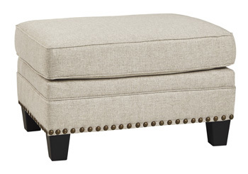 Ashley Ottoman/Claredon/Linen