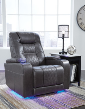 Ashley PWR Recliner/ADJ Headrest